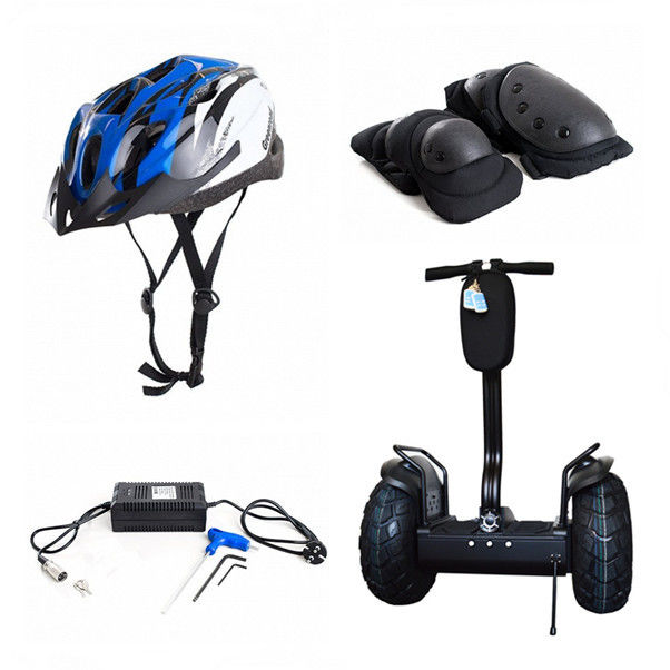 Outdoor Two Wheel Self Balancing Scooter High Performance Parts Electric Cycle Helmet