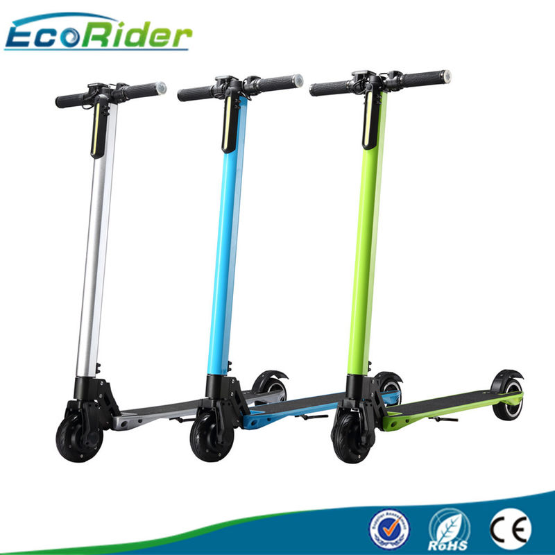 2 Wheel Foldable Electric Scooter For Adults , Multi Color Folding Travel Scooter