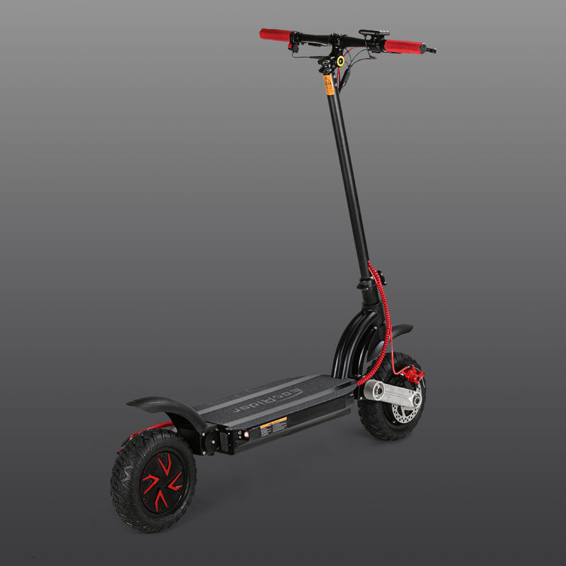 EcoRider E4-9 Two Wheel 48V 10 inch Dual Motor Folding Electric Scooter
