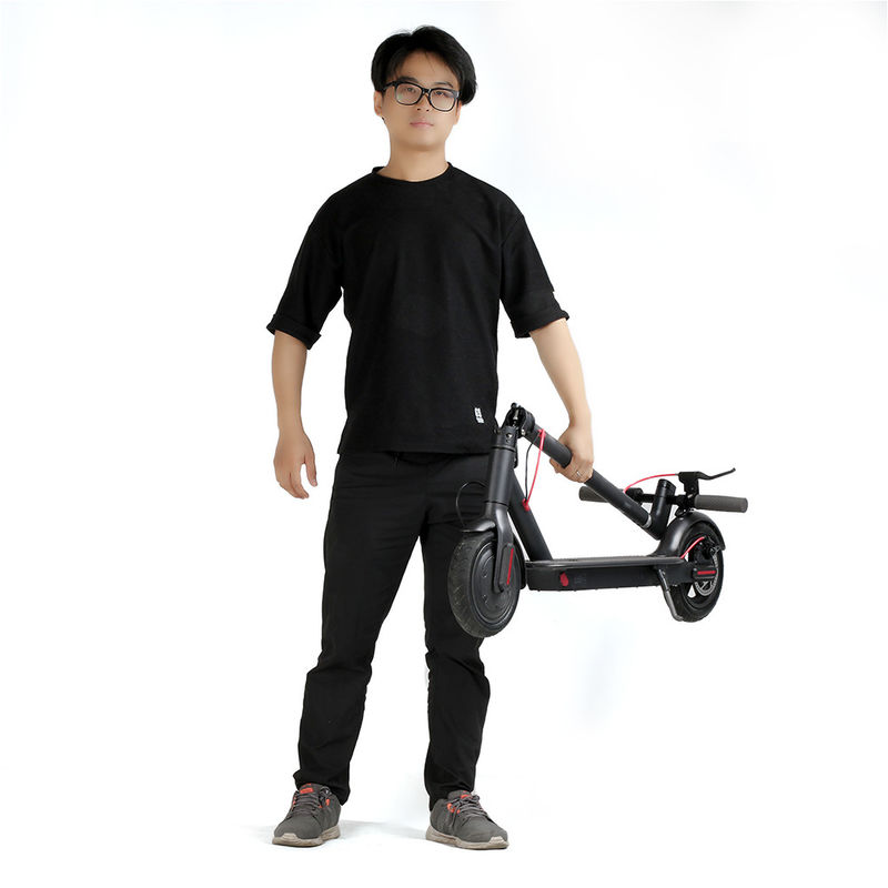 10 Inch Xiaomi 2 Wheel Folding Electric Scooter With A Dual Brake System