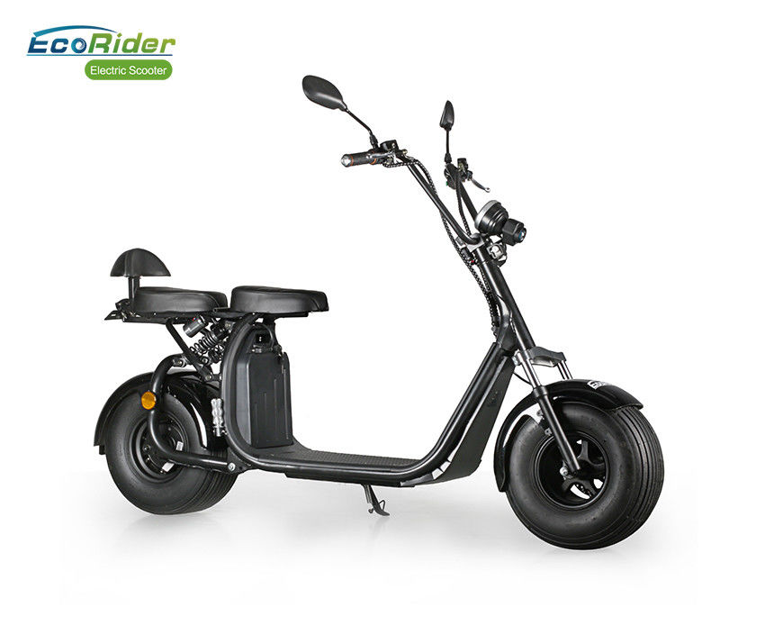 Citycoco Two Wheel Electric Scooter 18.5 Inch Solid Tire With EEC Certificate