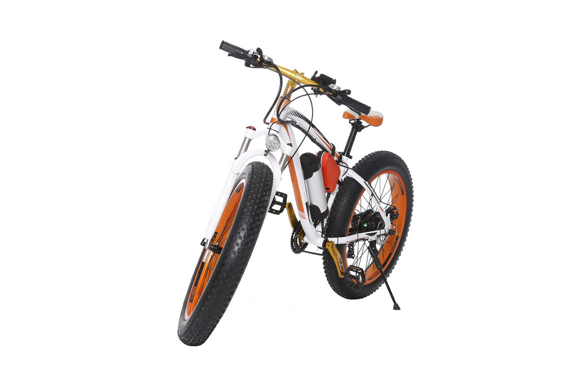 Aluminium Alloy Frame 2 Wheel Electric Bike  with 26 Inch Fat Tire